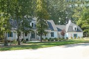 Country Style House Plan - 4 Beds 5 Baths 4445 Sq/Ft Plan #137-130 Exterior - Front Elevation