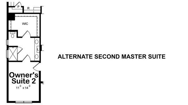 Alternate Second Master Suite