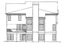 Home Plan - Colonial Exterior - Rear Elevation Plan #119-260