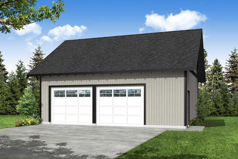 House Design - Traditional Exterior - Front Elevation Plan #124-1218