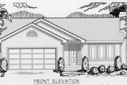 Ranch Style House Plan - 2 Beds 1 Baths 1080 Sq/Ft Plan #112-101