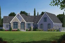 Home Plan - Front Rendering