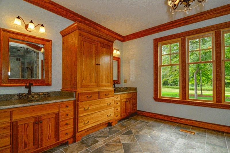 Country Interior - Master Bathroom Plan #137-280 - Houseplans.com