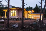 Contemporary Style House Plan - 3 Beds 3.5 Baths 3620 Sq/Ft Plan #1042-21 Exterior - Front Elevation