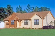 Country Style House Plan - 3 Beds 2 Baths 1141 Sq/Ft Plan #30-110
