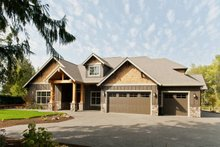 Home Plan - Craftsman Exterior - Other Elevation Plan #48-542