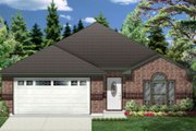 Traditional Style House Plan - 3 Beds 2 Baths 1538 Sq/Ft Plan #84-327 Exterior - Front Elevation