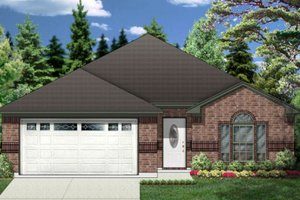 Traditional Exterior - Front Elevation Plan #84-327