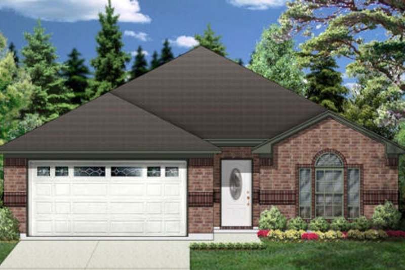 Traditional Style House Plan - 3 Beds 2 Baths 1538 Sq/Ft Plan #84-327