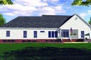 Farmhouse Style House Plan - 3 Beds 2.5 Baths 1799 Sq/Ft Plan #21-109 Exterior - Rear Elevation