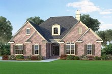 Dream House Plan - Traditional Exterior - Front Elevation Plan #929-325