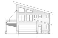Modern Exterior - Other Elevation Plan #932-42