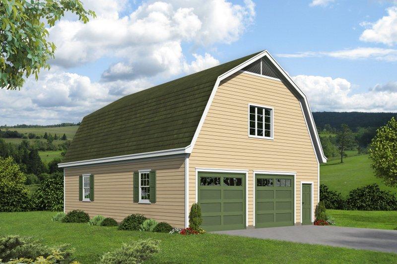 Dream House Plan - Farmhouse Exterior - Front Elevation Plan #932-322