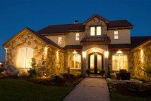 Dream House Plan - Mediterranean Exterior - Front Elevation Plan #472-4