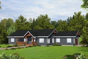 Architectural House Design - Craftsman Exterior - Front Elevation Plan #117-911