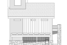 House Plan Design - Contemporary Exterior - Other Elevation Plan #932-217