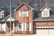 Traditional Style House Plan - 3 Beds 2 Baths 1839 Sq/Ft Plan #30-208 Exterior - Front Elevation