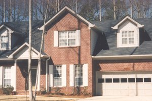Traditional Exterior - Front Elevation Plan #30-208