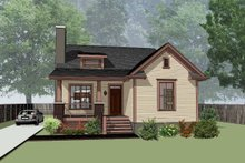 Home Plan - Craftsman Exterior - Front Elevation Plan #79-269