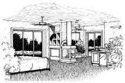 European Style House Plan - 4 Beds 3.5 Baths 3556 Sq/Ft Plan #417-394 Photo