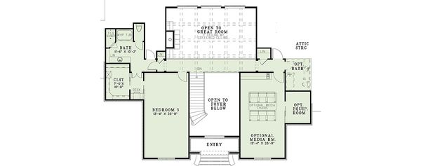 Architectural House Design - European house plan and luxury floor plan