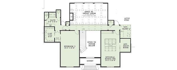 House Design - European house plan and luxury floor plan