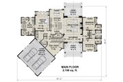 Farmhouse Style House Plan - 4 Beds 3 Baths 2150 Sq/Ft Plan #51-1135 Floor Plan - Main Floor Plan