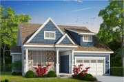 Craftsman Style House Plan - 3 Beds 2 Baths 2326 Sq/Ft Plan #20-2200