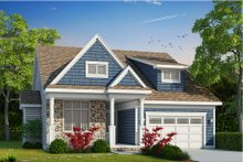 Dream House Plan - Craftsman Exterior - Front Elevation Plan #20-2200
