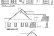European Style House Plan - 5 Beds 4 Baths 3003 Sq/Ft Plan #17-207 Exterior - Other Elevation