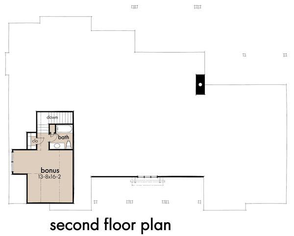 House Design - Farmhouse Floor Plan - Upper Floor Plan #120-271