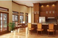 Cottage Interior - Kitchen Plan #45-378