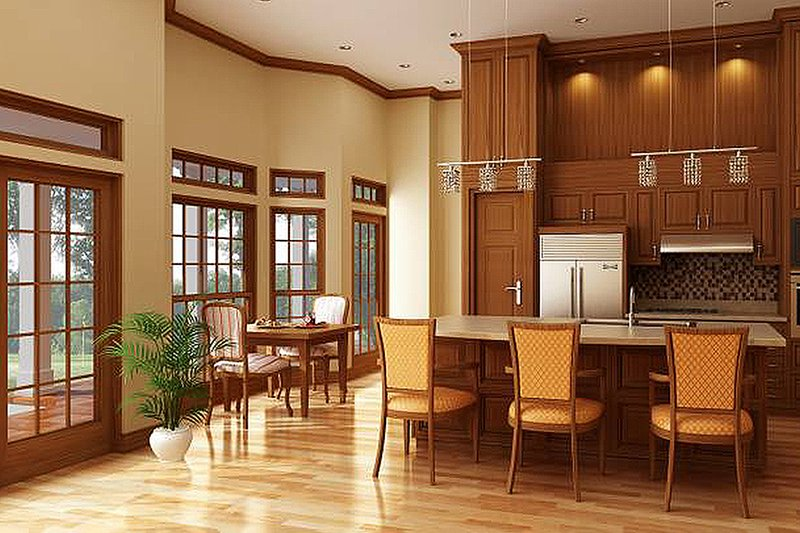 Cottage Interior - Kitchen Plan #45-378 - Houseplans.com