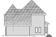 European Style House Plan - 3 Beds 2.5 Baths 2121 Sq/Ft Plan #138-336 Exterior - Other Elevation