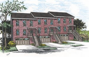 Traditional Exterior - Front Elevation Plan #20-629