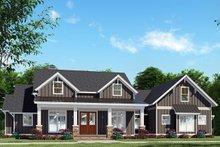 Craftsman Exterior - Front Elevation Plan #923-133