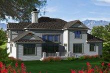 Home Plan - Tudor Exterior - Rear Elevation Plan #70-1141