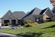 European Style House Plan - 4 Beds 2.5 Baths 3772 Sq/Ft Plan #51-480 Exterior - Front Elevation