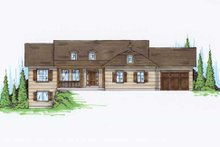 Traditional Exterior - Front Elevation Plan #5-245