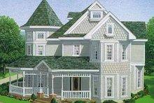 Victorian Exterior - Front Elevation Plan #410-150