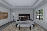 Ranch Style House Plan - 3 Beds 2.5 Baths 2734 Sq/Ft Plan #1060-99 Interior - Master Bedroom