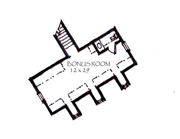 Craftsman Floor Plan - Other Floor Plan Plan #921-10