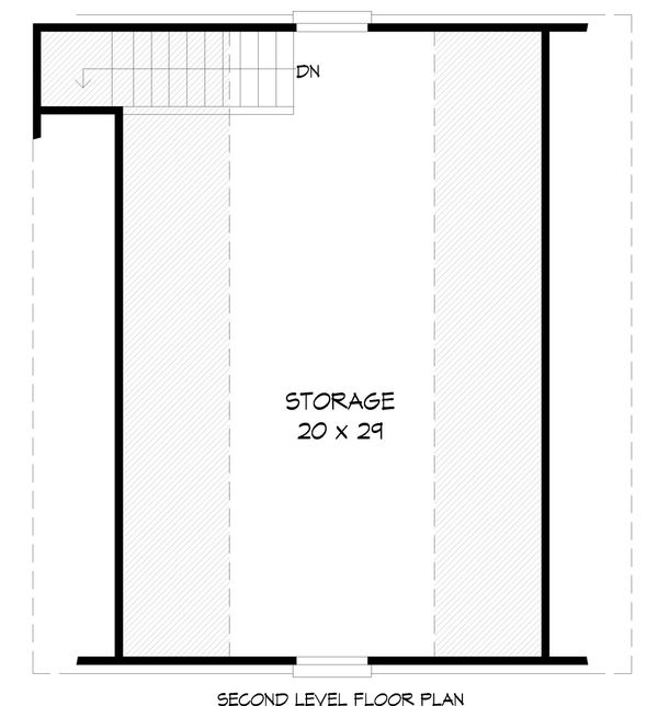 Country Floor Plan - Upper Floor Plan #932-84