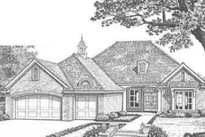 Traditional Exterior - Front Elevation Plan #310-320