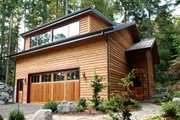 Contemporary Style House Plan - 2 Beds 1 Baths 1024 Sq/Ft Plan #498-3