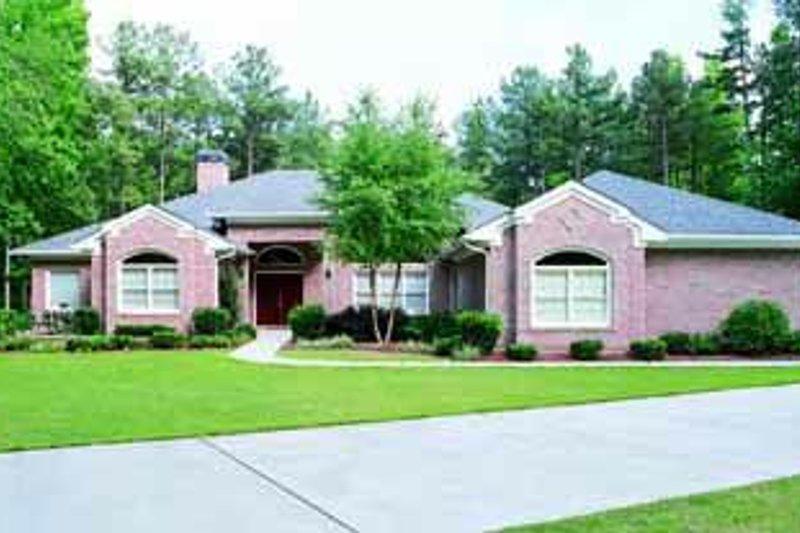House Blueprint - Modern Exterior - Front Elevation Plan #72-324