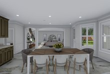 Mediterranean Interior - Dining Room Plan #1060-29