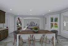 Dream House Plan - Mediterranean Interior - Dining Room Plan #1060-29