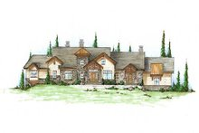 Home Plan - Traditional Exterior - Front Elevation Plan #5-339
