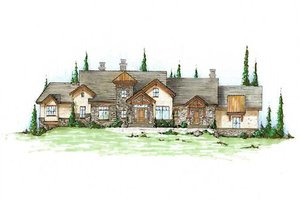 Traditional Exterior - Front Elevation Plan #5-339